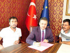 TKDK, Elbistanlı 2 girişimci ile sözleşme imzaladı