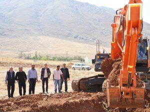Bölge Hastanesi'nde inşaat çalışmaları başladı