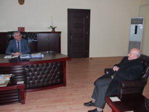 Kaymakamı Aksoy'a nezaket ziyareti