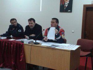 Öğrenci servis şoförlerine seminer verildi