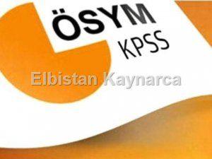 KPSS'ye gireceklerin eğitim bilgilerini güncellemesi gerekiyor