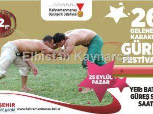 Büyükşehir'den güreş festivali