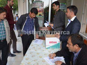 Elbistan'da 65 işsize TYP'den 9 aylık iş umudu