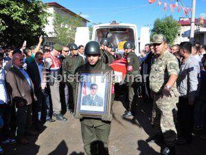 Şehit Uzman Çavuş Ahmet Ece, dualarla uğurlandı