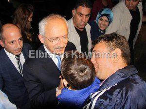 CHP Genel Başkanı Kemal Kılıçdaroğlu Kahramanmaraş'ta
