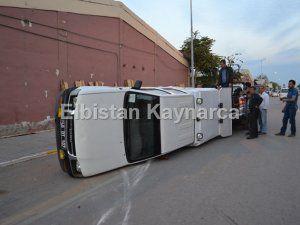 Sanayi sitesinde kaza