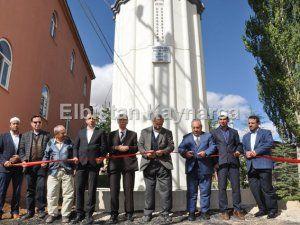 Hayırsever vatandaşın yaptırdığı minare törenle açıldı