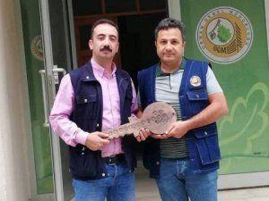 Alkan, Elbistan Orman İşletme Şefliği görevini Öz'e devretti