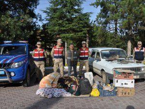 Suriye uyruklu kaçak avcılara rekor ceza