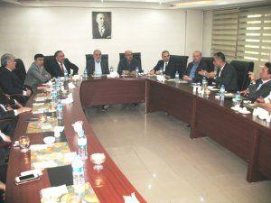 ETSO yönetimi, banka müdürleri ile bir araya geldi