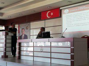 Rehberlik ve özel eğitim öğretmenleri sene başı toplantısı yapıldı