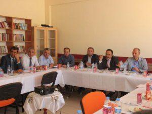 Halk Eğitimi Merkezi Müdürleri Nurhak'ta toplandı