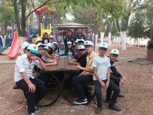 Toplum Destekli Polis'ten öğrencilere piknik ve sinema etkinliği