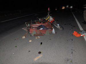 Karaelbistan'da kaza: 1 ölü, 4 yaralı