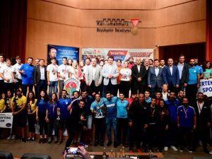 Rafting Şampiyonası'nda Ödüller Dağıtıldı