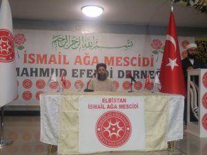 Cübbeli Ahmet Hoca, Elbistan'da sohbet programına katıldı