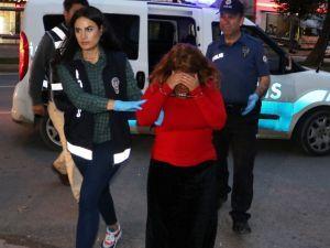 Cezaevi Firarisi Suç Makinesi Kadın Bu Kez Kaçamadı