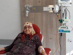 Palyatif Servisinde 196 hastaya kemoterapi tedavisi uygulandı