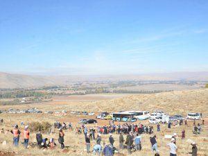 TEMA Vakfı, 500 fidanı toprakla buluşturdu