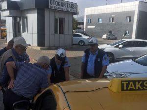 Kahramanmaraş'ta Taksiler Denetlendi