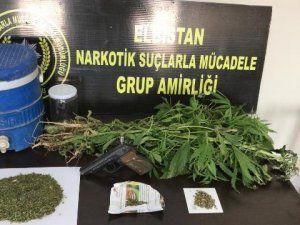 Elbistan polisinden uyuşturucu operasyonu