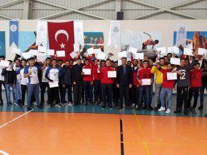 Genç Erkek Futbol turnuvası sona erdi
