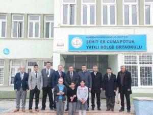 Kaymakam Demir'den YBO ziyareti