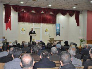Müftülükten 'Peygamberimiz ve Gençlik' konferansı