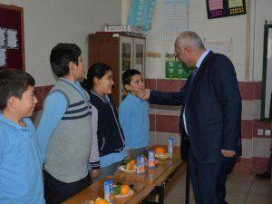 Başkan Vekili Tıraş, öğrencilerle Yerli Malı Haftası'nı kutladı