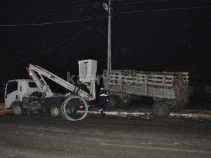 Trafik kazasında kopan elektrik teli, bir can daha aldı
