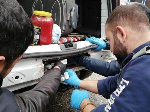 Kahramanmaraş'ta 2 Bin 800 Paket Kaçak Sigara Ele Geçirildi