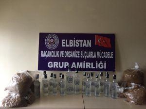 Kahramanmaraş'ta Kaçak İçki Operasyonunda 8 Gözaltı
