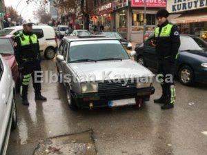 Drift atarak trafiği tehlikeye düşüren sürücü MOBESE'ye yakalandı