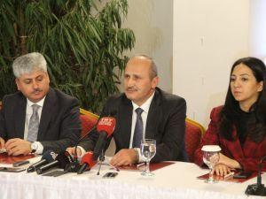 Ulaştırma Ve Altyapı Bakanı Mehmet Cahit Turhan: