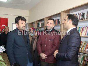 Şehit Uzman Onbaşı Serkan Bursalı'nın adı kütüphanede yaşayacak