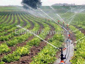 Yüzde 50 hibe destekli sulama sistemleri için başvurular başladı