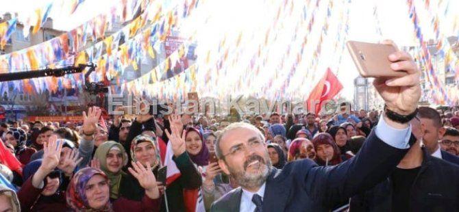 """Ünal: """"Recep Tayyip Erdoğan'a her zamankinden daha çok sahip çıkacağız"""""""