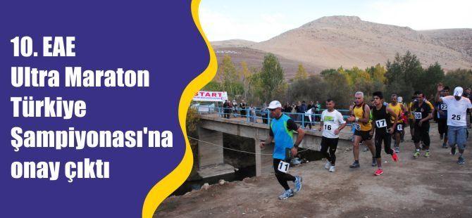 10. EAE Ultra Maraton Türkiye Şampiyonası'na onay çıktı