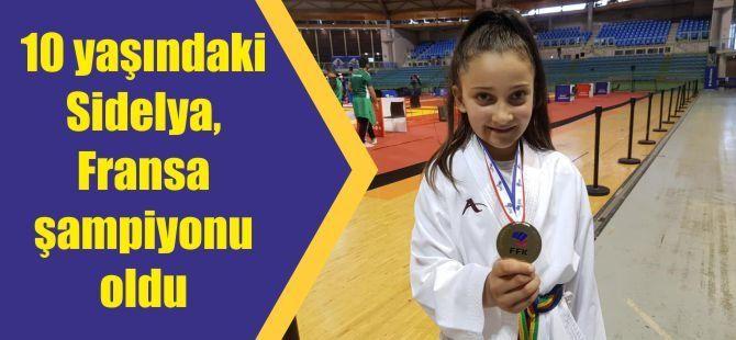 10 yaşındaki Sidelya, Fransa şampiyonu oldu