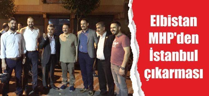 Elbistan MHP'den İstanbul çıkarması