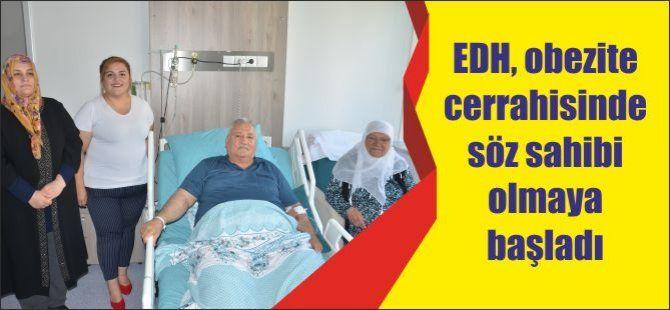 EDH, obezite cerrahisinde söz sahibi olmaya başladı