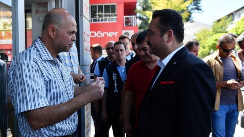 'Kaldırımlar Yayaların Olsun' projesine büyük destek