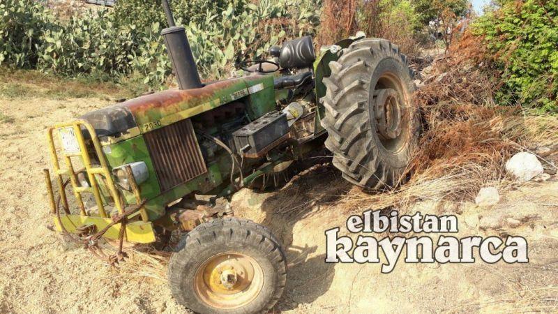 Freni boşalan traktörü durdurmaya çalışırken kalp krizi geçirdi