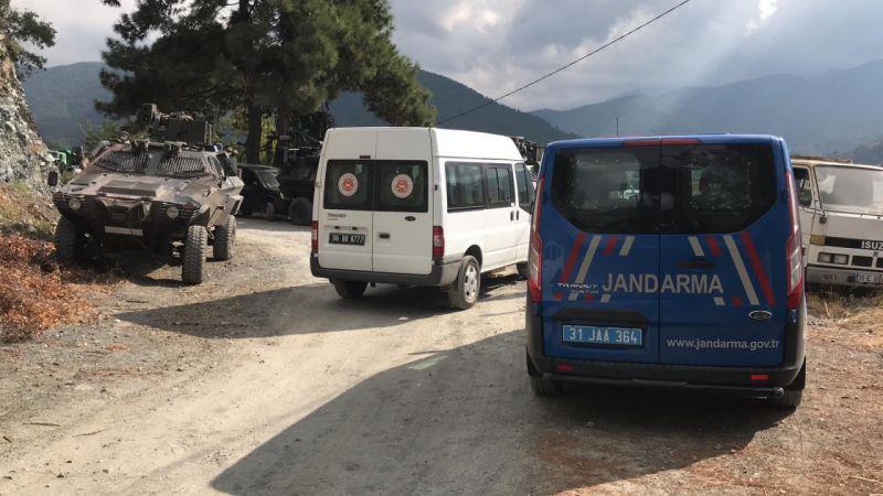 Hatay'da zırhlı araç devrildi: 7 yaralı