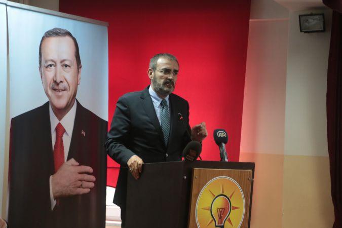 """AK Parti Genel Başkan Yardımcısı Ünal: """"İftira üzerine siyaset yapılmaz"""""""