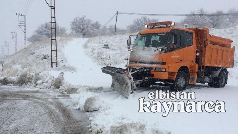 Karayolları ekiplerinin kar mesaisi başladı
