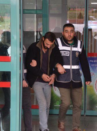 Kahramanmaraş'ta hasta yakınlarının çantasını çalan şüpheli tutuklandı