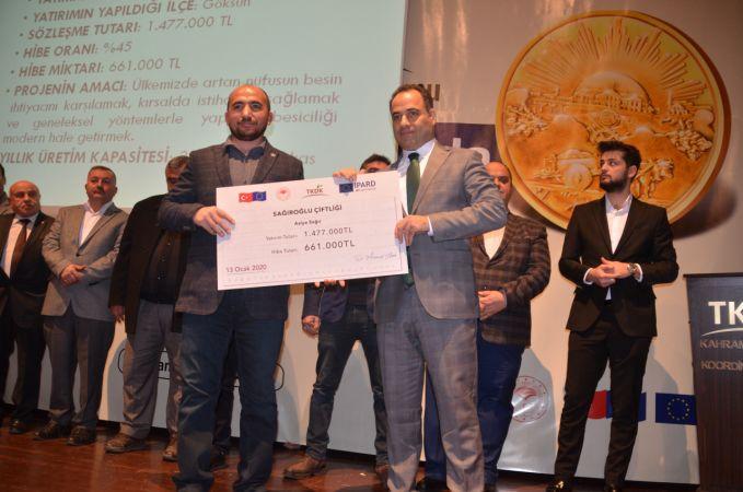 Kahramanmaraş'ta Milli Mücadele'nin 100. yılında 100 projeye 100 milyon lira destek