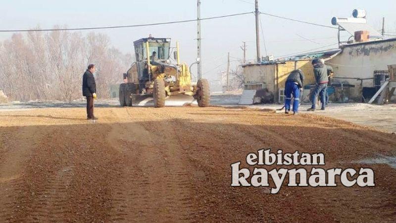 13 kırsal mahallede yol bakım çalışması tamamlandı