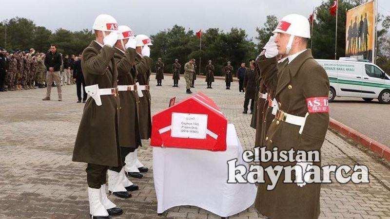 Şehit uzman onbaşı Taş için Şanlıurfa'da tören düzenlendi